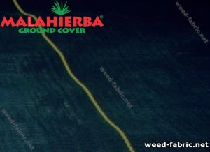 Sample of anti-weed fabric